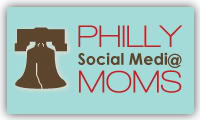Philly Media Moms button